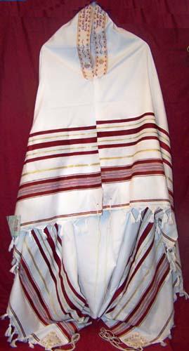tent size designer acrylic prayer shawl