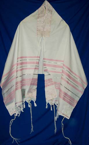 pink bat mitzvah tallit at lowest prices only 3777