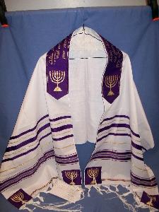PROPHET ISAIAH TALLIT - ARISE SHINE PRAYER SHAWL - GLORY ...